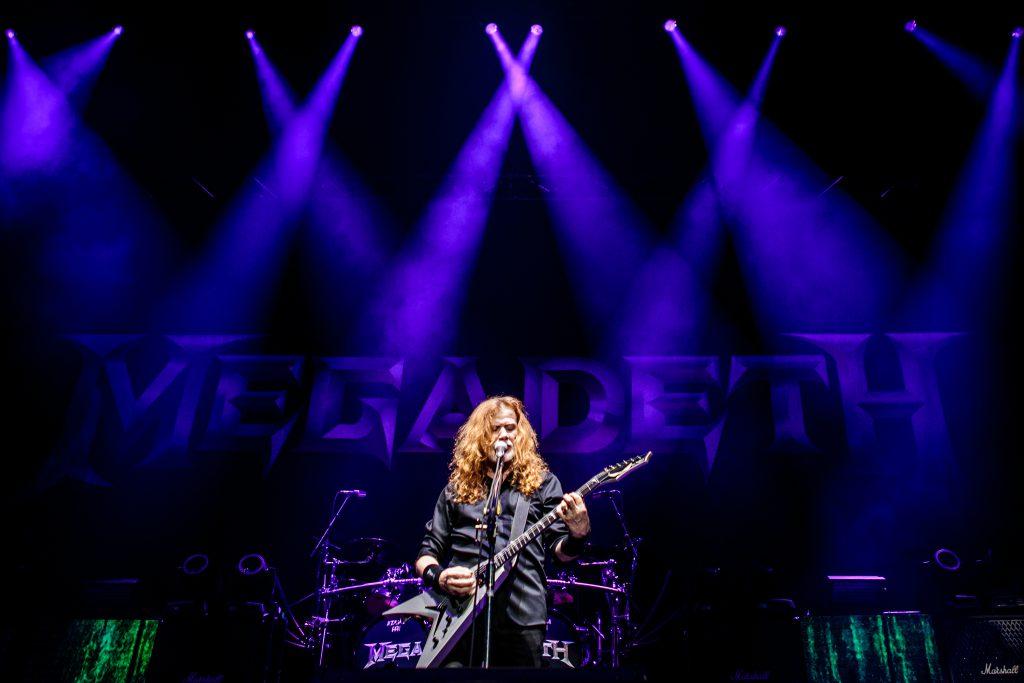 Photoreport: Megadeth at Royal Arena, Copenhagen